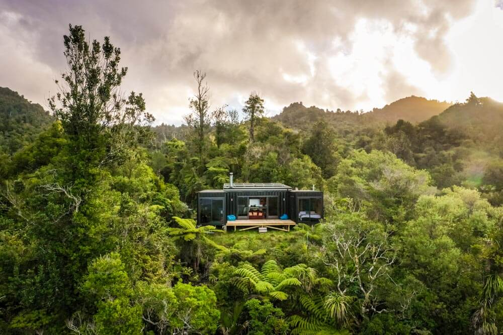 Dream Home: Shipping Container House in the Mountains of New Zealand