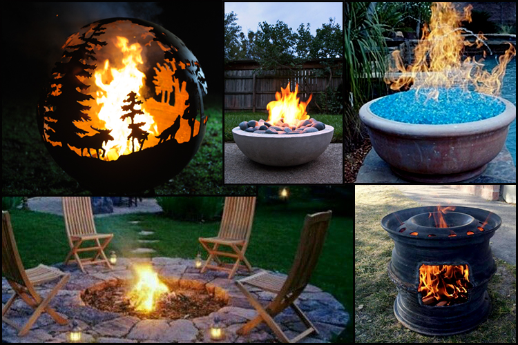 Outdoor Fire pit and Brazier ideas