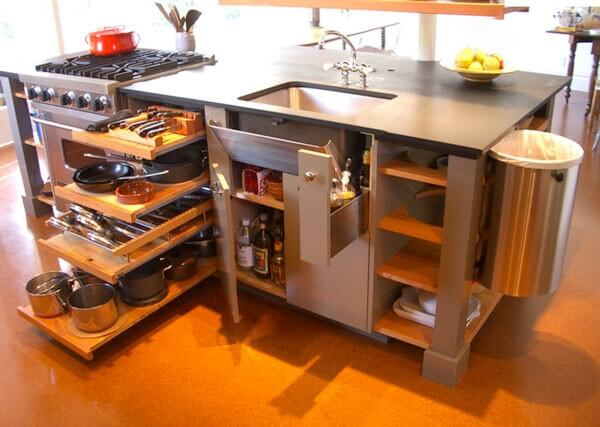 Living Big In A Tiny House Space Saving Ideas For A Small Kitchen