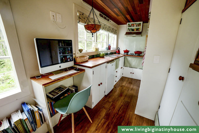 Tiny House Kitchen & Office