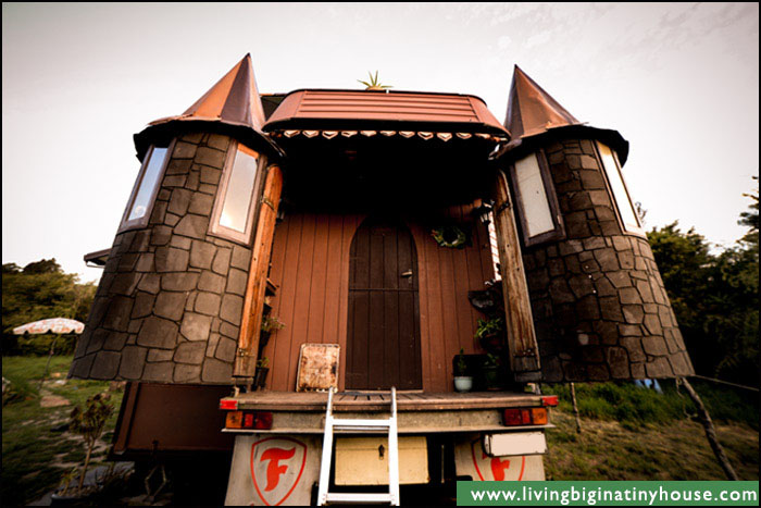 Castle Truck Bathroom Turrets