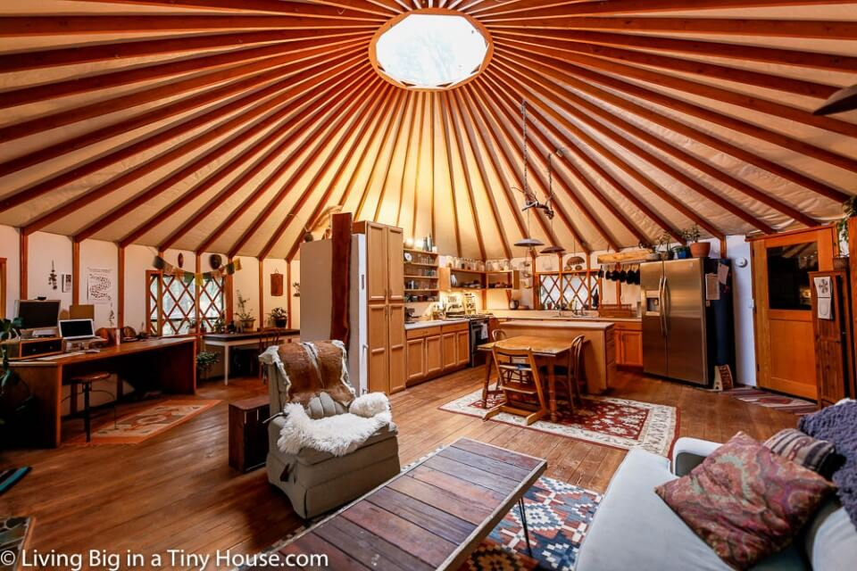 Living Big In A Tiny House Yurt Life And Permaculture In High Sierra The breeze, the smell, the sounds and of course the views!! living big in a tiny house yurt life