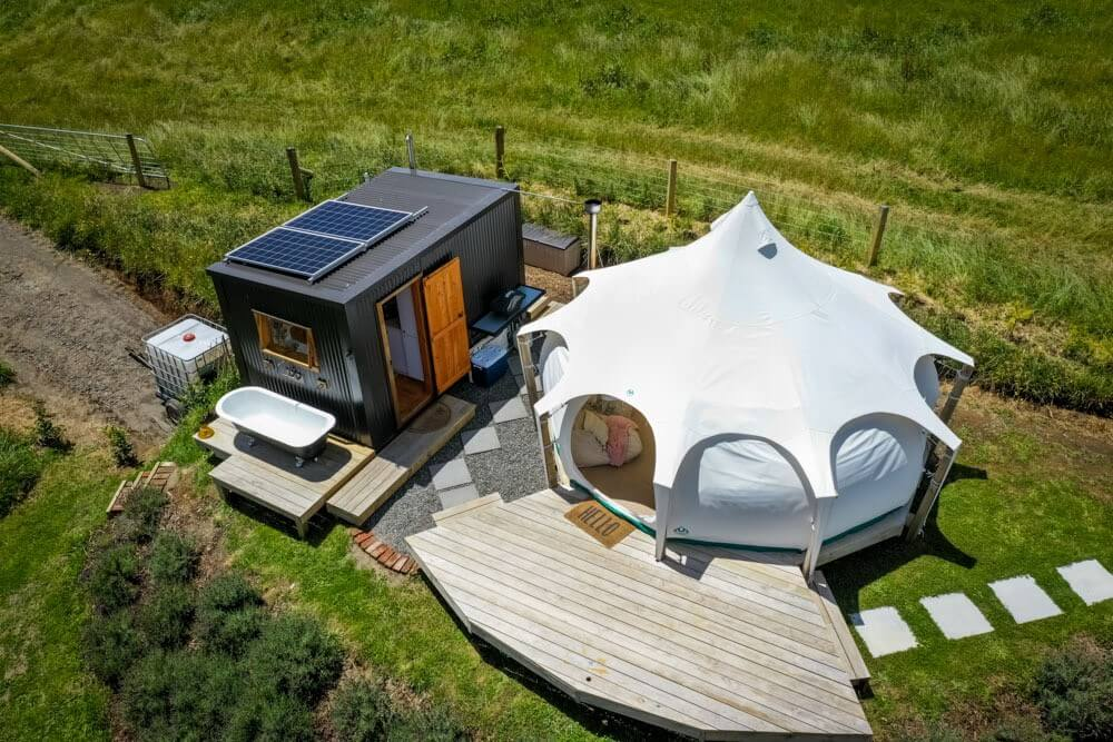 Idyllic Farm Transformed Into Luxury Glamping Getaway