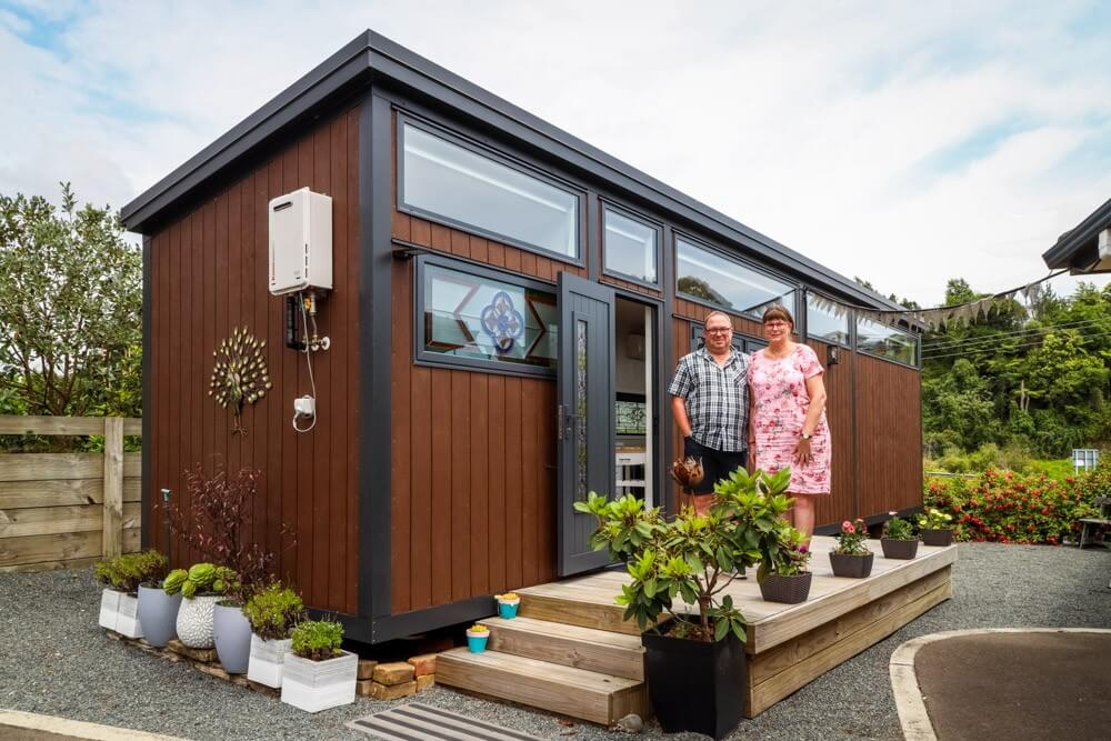 How This Stunning Tiny House Airbnb Enabled A Couple To Keep Their Home