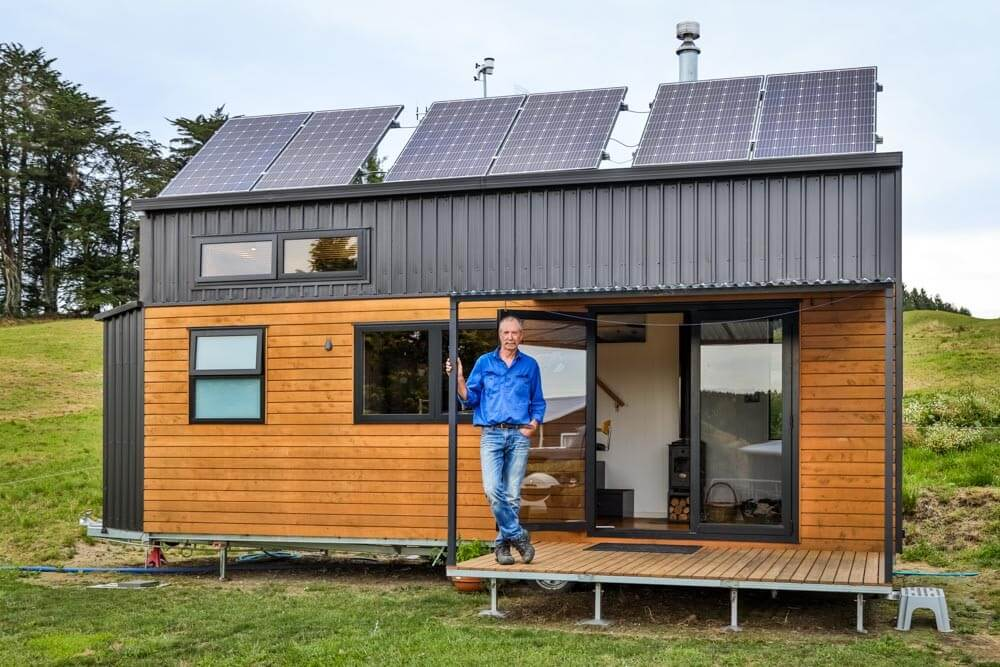 Off-The-Grid Tiny House Is Pure Design Genius