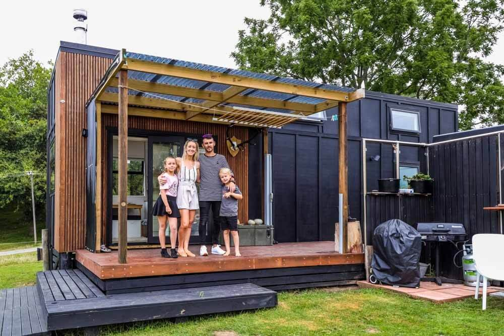Family Build Epic Modern-Country Style Tiny House