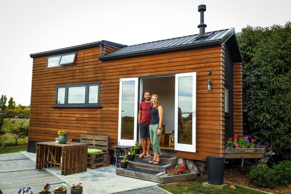 This Couple's DIY Tiny House Is A Real Stunner
